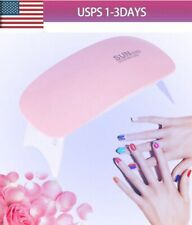 LED UV Nail Dryer Curing Lamp SUN mini 6W Light Portable Gel Based Polish dryGY