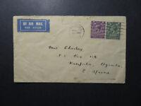 Great Britain 1931 Airmail Cover to Uganda / Light Creasing - Z12513