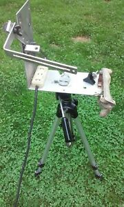 Vintage Camera Tripod ,Zip Grip Platform,Movie/Photography,Electric Station