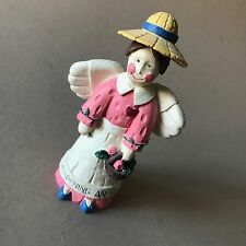 Gardening Angel Statue - Gift For The Gardener - Collectible