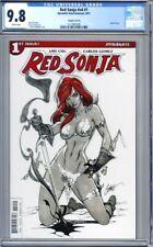 Red Sonja #1 J. Scott Campbell Variant Dynamite Comics 2017 1st Print   CGC 9.8