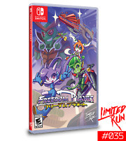 Freedom Planet Nintendo Switch NS Limited Run Games #35 LRG Sealed Sold Out!