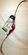 "Bear Archery KODIAK MAGNUM 52"" Recurve Bow RH 49# Works NICE FREE SHIP US48"