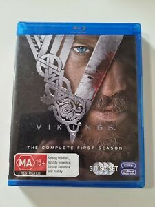 Vikings - The Complete First Season - Blu Ray - 3 Disc set - FREE POST