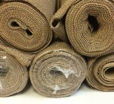 New listing 6 Rolls Sun Screen Shade Fabric Harvest Wheat Seconds 6' X 18 ft. Rolls = 108'
