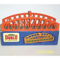 1957 HORNBY DUBLO 32141 D1 METAL GIRDER BRIDGE, EXCELLENT CONDITION, IN GOOD BOX