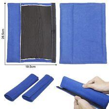 Almohadillas de cinturón azul 2x asiento de coche de ajuste universal Alto Confort Nuevo
