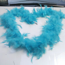 2M Natural Turkey feathers Feather boa weddings/parties/home improvement/scarves