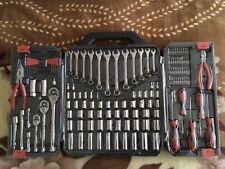 CRESCENT 148 Piece General Purpose Mechanics Tool Set with Storage Case