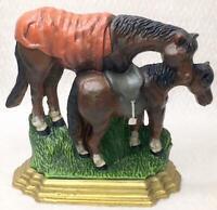 Collectible Cast Iron Farm House Horse Door Stop
