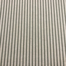 Deck Stripe Green French Linen/Cotton Fabric | In Stock Now | Per Meter