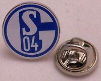 Pin + FC Schalke 04 + Logo + Vereinsemblem + Signet Blau + Dezente 1,5 cm #215