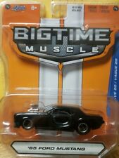 Big Time Muscle '65 Ford Mustang Jada Toys 2015 Mint