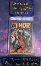 Thor #127 1966 Marvel Comics CGC 4.5 1st Pluto Stan Lee Jack Kirby Unpressed