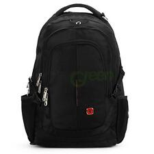 Swiss Gear Men Women Laptop Notebook Shoulder Backpack Rucksack Travel Bag