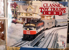 Classic Toy Trains Magazine 1997 Calendar NEW FROM OLD STOCK