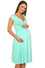 Viscose Casual Plus Size Maternity Dresses