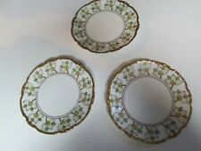 """Lot 3 La Seynie P. And P. Limoges France Signed 1909 Dated 8.5"""" Plates"""