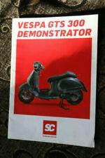 Vespa Motorcycle Sales Brochures