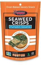 Seapoint Farms Seaweed Crisps Pumpkin Sesame (35g) - Pack of 2