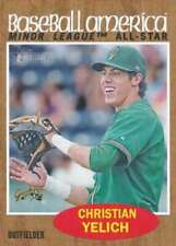2011 Topps Heritage Minor League #243 Christian Yelich (Prospect / Rookie Card)
