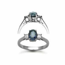White Gold Sapphire Fine Rings
