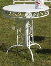 "Garden Table "" Rose "", Drop-Leaf Table, Romance Balcony White"