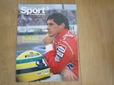 Shortlist Sport Magazine Senna New.