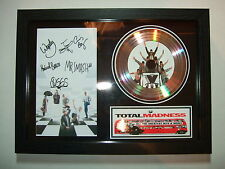 MADNESS  SIGNED  GOLD CD  DISC   3