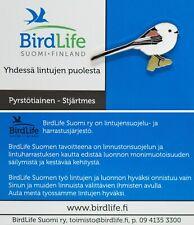 RSPB Pin Badge | Finland BirdLife long-tailed tit (01330)
