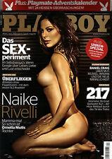 Playboy Dezember/12/2011  NAIKE RIVELLI & IRENE HOEK & Adventskalender*