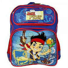 "Disney JAKE and the NEVER LAND PIRATES 14"" Medium BACKPACK School Travel Bag NEW"