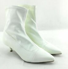 Rampage Boots Womens Size 5.5 White Pull On 2 inch Heel