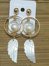 HOT 2018 New Women gold  Fashion   Ear Studs Earring  Jewelry  SIZE:85x30