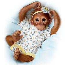 Zara Ashton Drake Monkey Doll By Jane Baffi 16 inches
