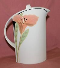 VILLEROY BOCH V&B IRIS 1 Kaffeekanne Kanne Porzellan mit Blumenmuster hochwertig