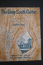 THE DEEP SOUTH GUITAR - Song Book - JOSHUA FIT DE BATTLE OF JERICHO & 20 others
