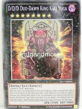 Yu-Gi-Oh - 1x #045 D/D/D Duo-Dawn King Kali Yuga - SP17 - Star Pack - Starfoil