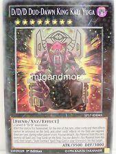 Yu-Gi-Oh - 1x #045 D/D/D Duo-Dawn King Kali Yuga - SP17 - Star Pack - Starfoil