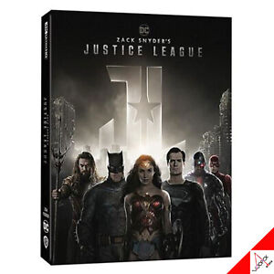 MOVIE Zack Snyder's Justice League 4Disc /4K UHD + BLU-RAY Steelbook Limited