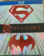 Batman and Superman: 9 Film Collection (Blu-ray Disc, 2018)