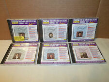 Tested ! Lot 6 **CD/ROM Beethoven Symphony No. 1,2,4,5,6,7 Computer & CD Player