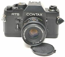 Contax RTS w/ Yashica ML 50mm 1:2