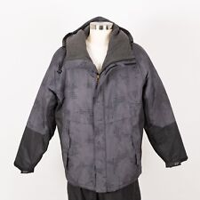 Men's SOUTHPLAY Winter Hooded Jacket Size Size XL Grey