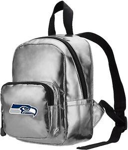 NWT NFL Seattle Seahawks Spotlight Women's Backpack Sliver