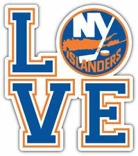 "New York Islanders LOVE 4"" x 4.1/2"" Magnet"