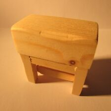 Dollhouse miniature ~ 1/24 scale ~ butchers block