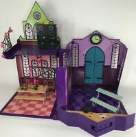 Monster High High School Playset 2012 Doll House Accessories Retired Incomplete
