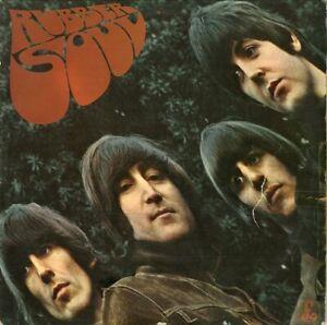 THE BEATLES Rubber Soul Vinyl Record Album LP Parlophone 1965 Mono 1st Loud Cut
