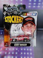 2003 Hot Wheels Stockerz #97 Kurt Busch Sharpie Nascar Mattel New